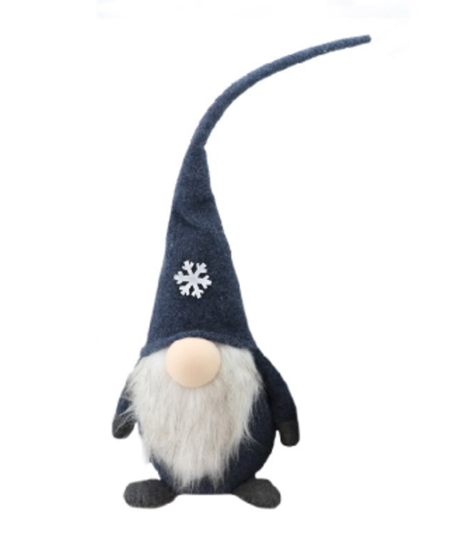 Gnome With Snowflake Medium
