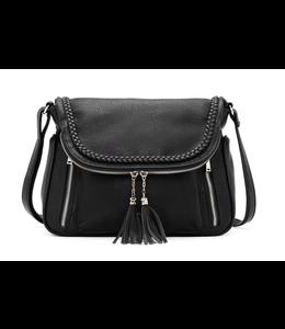 Co Lab Purses Messenger Bag - Black