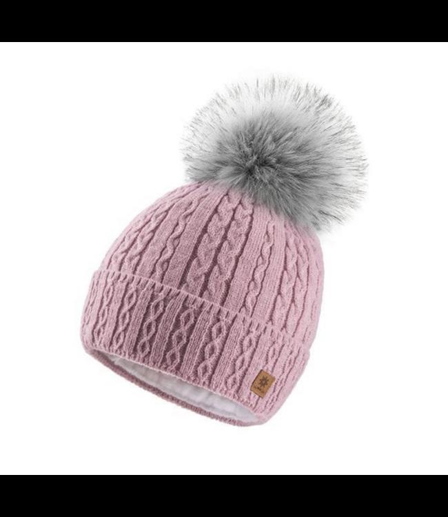 Woolk Mia Hat- Rose Pink