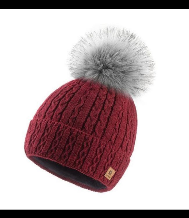 Woolk Mia Hat- Burgundy