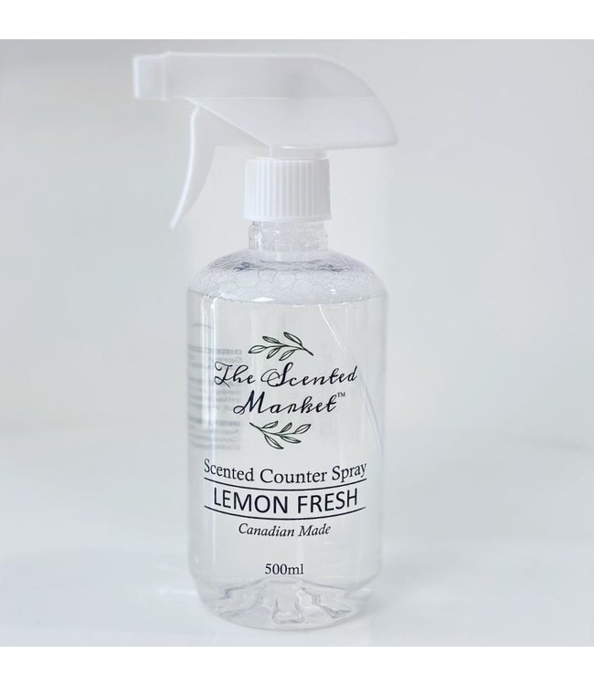 The Scented Market Cleaning/Counter Spray- Lemon Fresh
