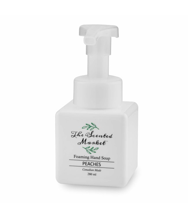 The Scented Market  Hand soap- Peaches