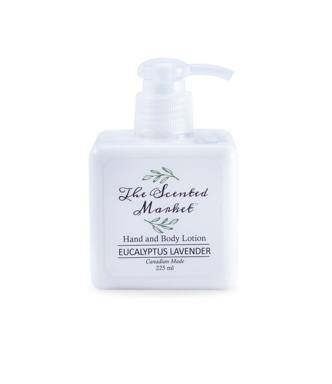 The Scented Market  Hand and Body Lotion- Eucalyptus Lavender