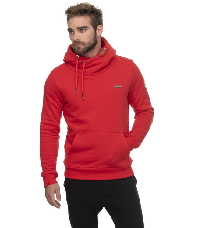 Ragwear Mens Nate Sweatshirt- Red