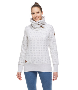 Ragwear Angel Chevron Sweatshirt- White