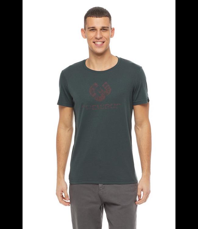 Ragwear  T-shirt- Dark Green