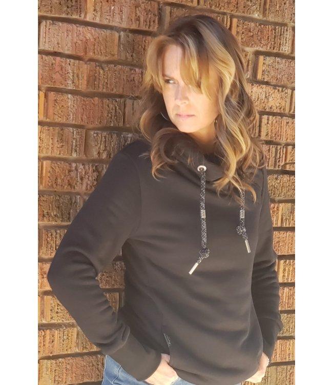 Ragwear Neska sweatshirt- Black