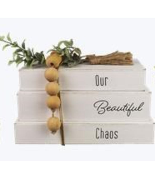 Set of 3 Books - Our Beautiful Chaos