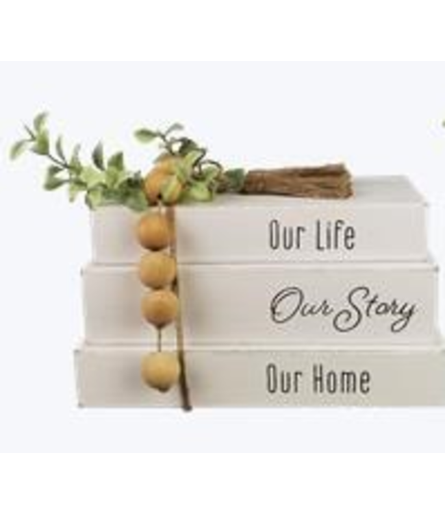 Set of 3 Books - Our Life Our Story Our Home