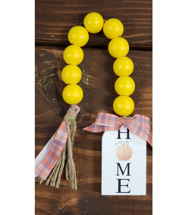 Wood Blessing Beads- Home