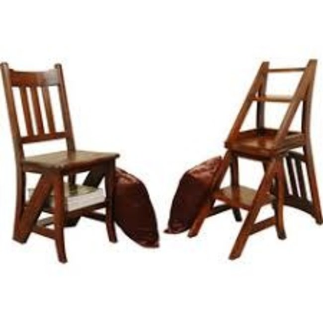 Sunset Trading CC-CHA005S-WN   Chair and Shelf Combo