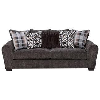 Lane® Home Furnishings Parks Tigereye Stationary Sofa- 9182-03-9361A