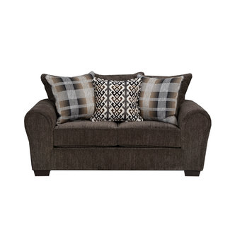 Lane® Home Furnishings Parks Tigereye Stationary Loveseat-9182-02-9361B