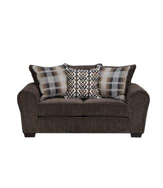 Lane Home Furnishings PARKS EYE/ALEX CAVI/POCAH MIDN LC LOVESEAT 9182-02
