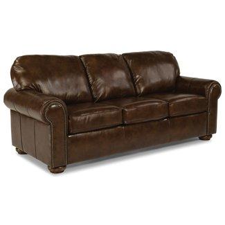 Flexsteel Preston Leather Sofa