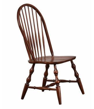 Sunset Trading Windsor Side Chair-Chestnut DLU-C30-CT
