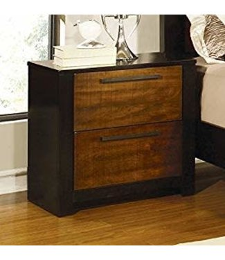 Coaster 203942 Coronado | Night stand - Natural Cherry/Cappuccino