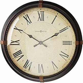Howard Miller Atwater 625-498 Large Wall Clock
