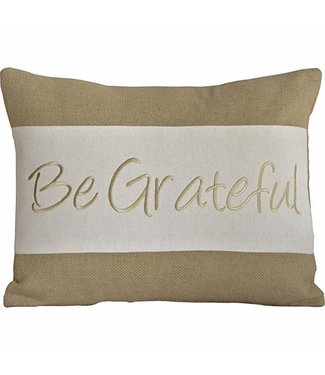 VHC BRANDS Be Grateful | Pillow 14x18