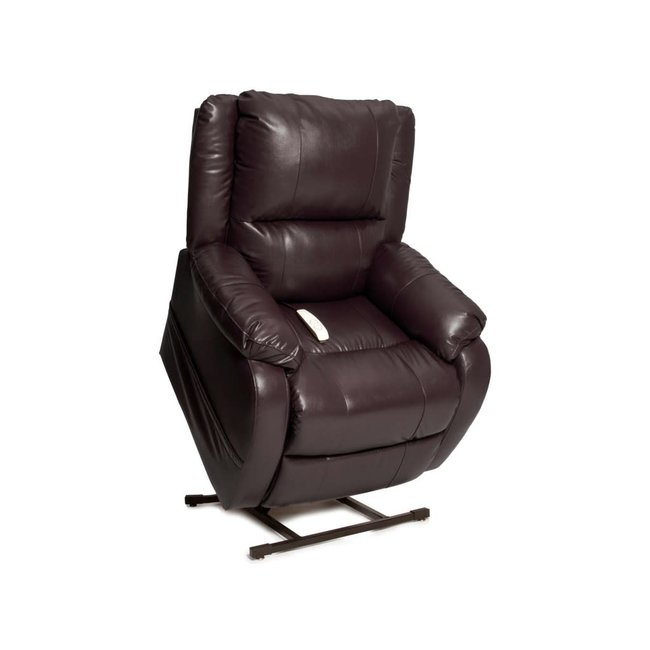 Mega Motion NM2650 Power Lift  Recliner CHESTNUT VINYL
