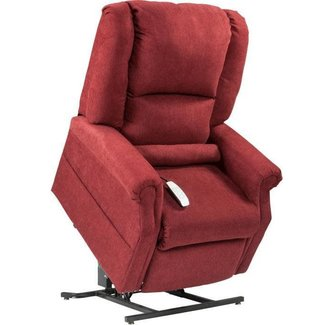 Mega Motion NM101 Power Lift  Recliner Burgundy