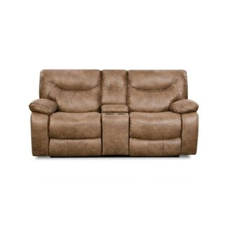 Lane Home Furnishings 50250 BR CASUAL DOUBLE MOTION CONSOLE LOVESEAT