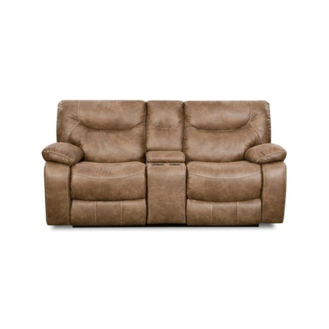 Lane® Home Furnishings 50250 BR CASUAL DOUBLE MOTION CONSOLE LOVESEAT