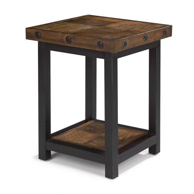 Flexsteel® Carpenter | Chair Side Table 6722-07