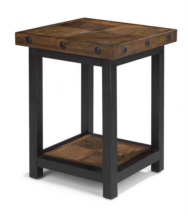 Flexsteel Furniture Carpenter | Chair Side Table 6722-07