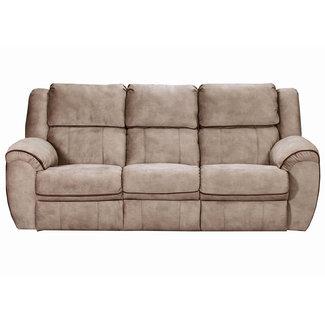 Lane® Home Furnishings OSBORN TAN/ASBORN CHOCOLATE SOFA DBL MOTION 50436BR-53