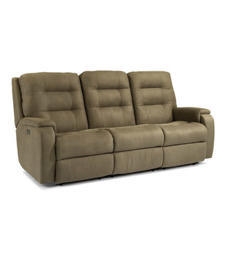 Flexsteel Furniture Arlo | 810 -62H Power Reclining Sofa with Power Headrests 407-01