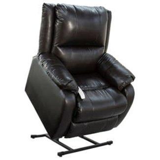 "Mega Motion Mega Motion LLC. NM-2650 (Sta-Kleen Vinyl-Chestnut) Mega Motion Power Lift Recliner Chair.Weight Capacity: 375 lb. Suggested User Height: 5'6"" to 6'  ZA327716183MM0"