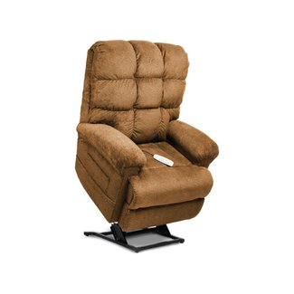 Mega Motion Mega Motion LLC. NM-1652SO Mega Motion Venus Ultimate Power Recliner and Chaise Lounger with Infinite-Position/Angus Chocolatee