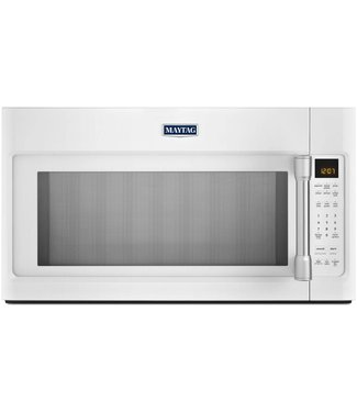 Maytag 2.0 cu. ft. Over-the-Range Microwave Oven with 1000 Watts, 400 CFM Venting System, Sensor Cooking, Speed Cook, Quick Touch Settings, Interior Cooking ...
