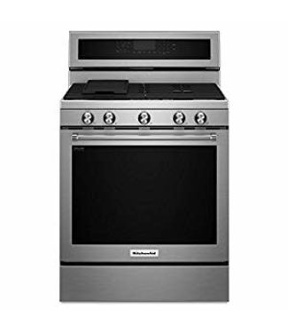 Whirlpool 5.8 cu. ft. Gas Range with Self-Cleaning Oven in Stainless Steel