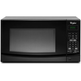 Whirlpool WMC10007AB 0.7 cu. ft. Capacity Countertop Microwave with 700 Cooking Watts, in Black