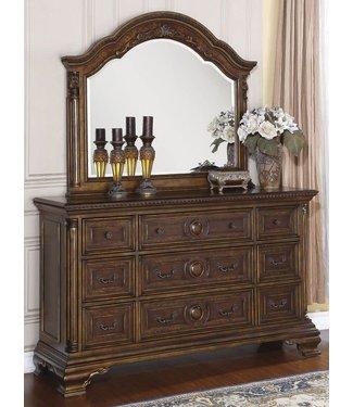 Flexsteel Furniture Talevera   Dresser & Mirror
