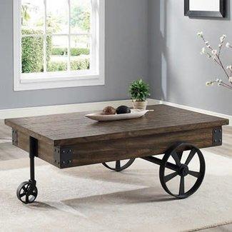 Crown Mark Otis | Wagon Wheel | Coffee Table  4238-01