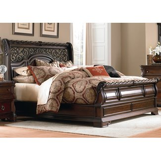 Liberty Furniture Liberty Arbor Place (575-BR) King Sleigh Bed