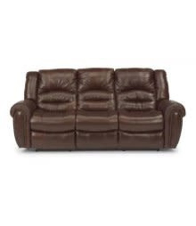 Flexsteel Furniture Crosstown | 1210-62 Leather Reclining Sofa 048-62