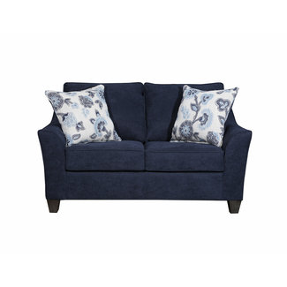 Lane Home Furnishings Sheffield Prelude Navy Loveseat-4330-02-9417B