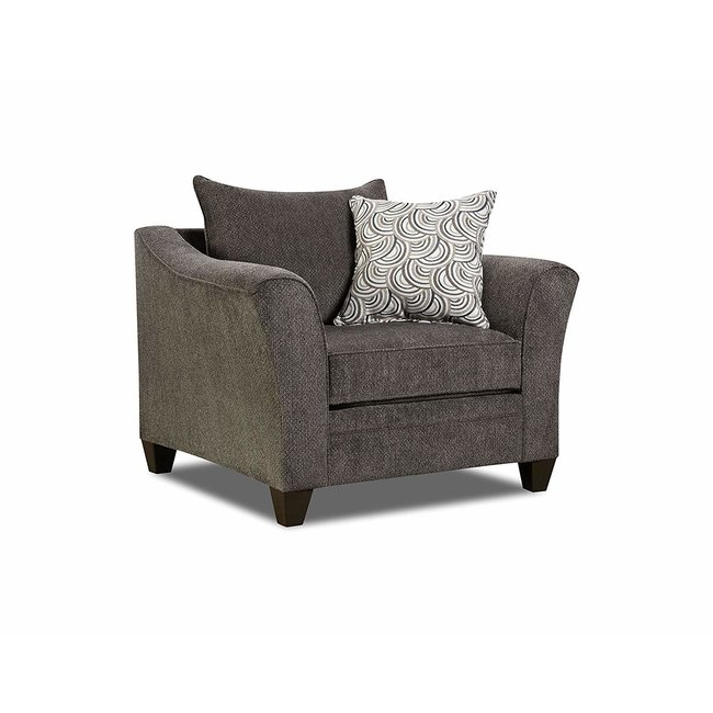 Lane® Home Furnishings 6485 Albany Pewter Chair 1/4-6485-01-8898B