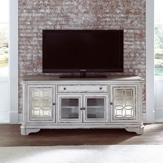Liberty Furniture Magnolia Manor (244-ENT) Entertainment TV Stand 244-TV74