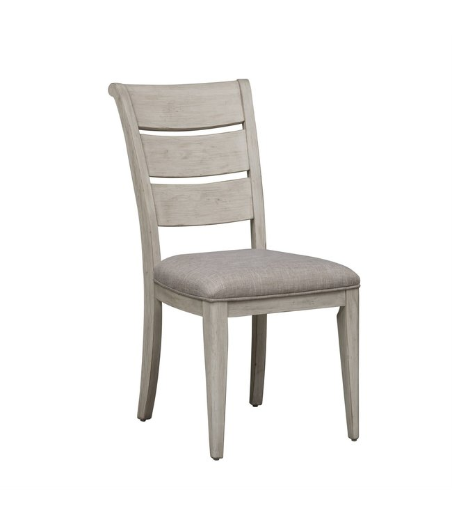 Liberty Furniture Farmhouse Reimagined (652-DR) Ladder Back Uph Side Chair (RTA) SKU: 652-C2001S