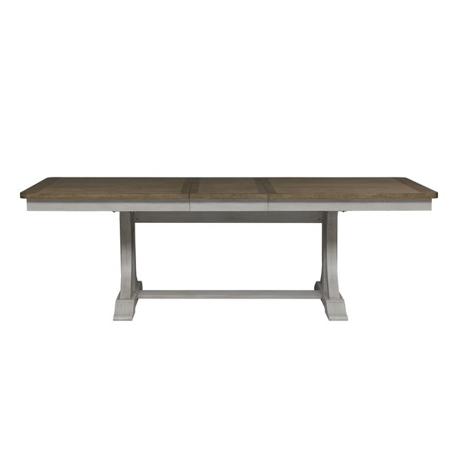 Liberty Furniture Farmhouse Reimagined Trestle Table  652-DR-TRS