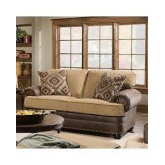Lane Home Furnishings 7541 Lattimer | Cocoa LOVESEAT