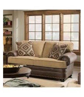 Lane Home Furnishings 7541 Lattimer Cocoa LOVESEAT