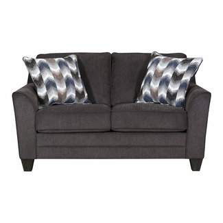 Lane Home Furnishings 2013 Ferrin Zena Mink Loveseat-2013-02-9608B