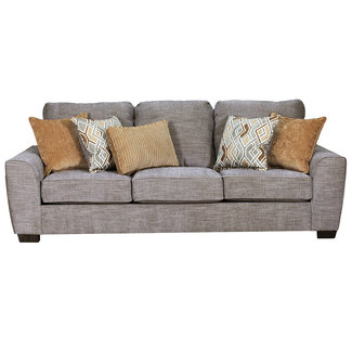 Lane Home Furnishings 9770 Pompeii Silver Sofa-9770BR-03-9150A