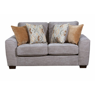 Lane Home Furnishings 9770 Pompeii Silver Loveseat-9770BR-02-9150B